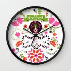 Bird Love Wall Clock