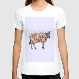 FLORAL ZEBRA T-shirt