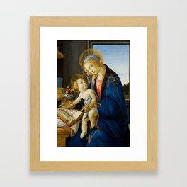 Sandro Botticelli - The Virgin and Child, 1480 Framed Art Print