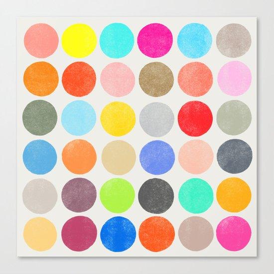 colorplay 1 sq Canvas Print