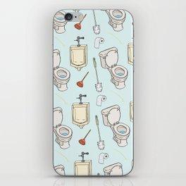 Bathroom Pattern iPhone Skin