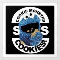 cookies Art Prints featuring COOKIES! by SwanniePhotoArt