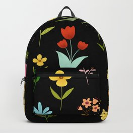TINY LITTE COLORFUL  FLOWER PATTERN Backpack