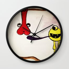 Get your mind in the gutter Wall Clock