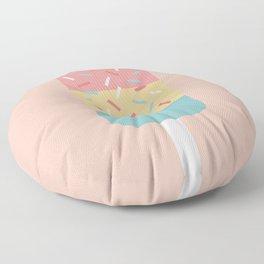 Popsicle (Peach) Floor Pillow