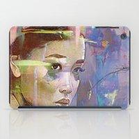 japanese iPad Cases featuring Izanami goddess Japanese by Ganech joe