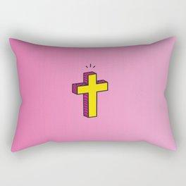 GOD. Rectangular Pillow