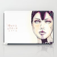 fashion illustration iPad Cases featuring Fashion illustration  by Ioana Avram