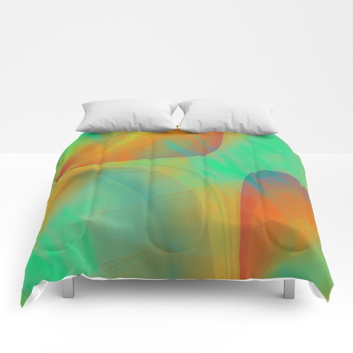 Multicolored abstract 2016 / 001 Comforters