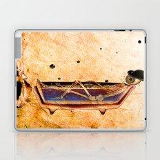 Monsieur Bone in the bathroom Laptop & iPad Skin