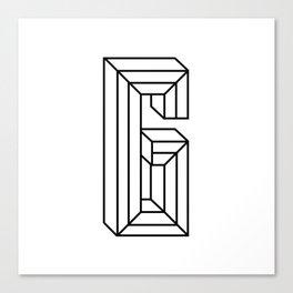 Letter G Canvas Print