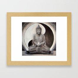 YING YANG  Framed Art Print