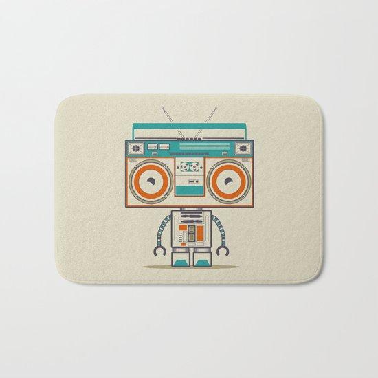 Music robot Bath Mat