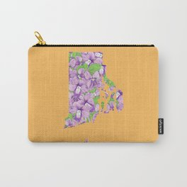 Rhode Island in Flowers Carry-All Pouch