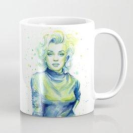 Marilyn Watercolor Coffee Mug