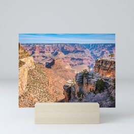 Morning at Bright Angel Trail - Grand Canyon Mini Art Print