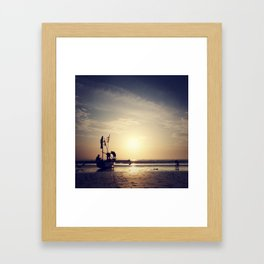 ujung genteng series Framed Art Print