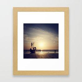 ujung genteng series Framed Art Print