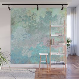 Pastel Garden Impressions Wall Mural