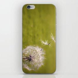 Wishing on a Dandelion iPhone Skin
