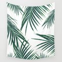 Green Palm Leaves Dream #2 #tropical #decor #art #society6 by anitabellajantz