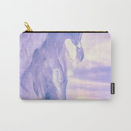 Ice cliff of Lake Baikal Carry-All Pouch