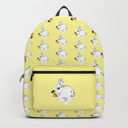 Some'bunny' Loves You...LOTS! (on yellow) Backpack