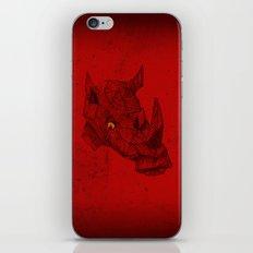 Red Rhino iPhone & iPod Skin