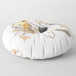 Fox Terrier Floor Pillow