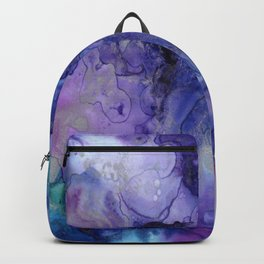 Watercolor Ink Abstract Backpack