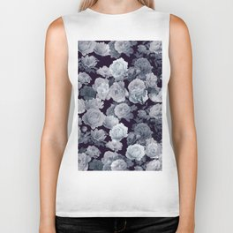 Abstract floral background 214 Biker Tank