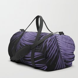 Palm Leaves Ultra Violet Vibes #1 #tropical #decor #art #society6 Duffle Bag