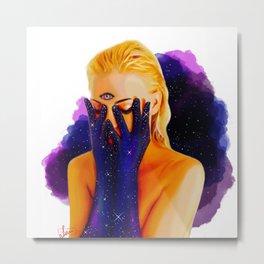 Divine Feminine 1 ( We Are The Cosmos ) Metal Print