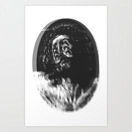 Devolution of Christ Art Print