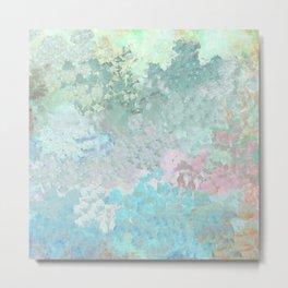 Pastel Garden Impressions Metal Print