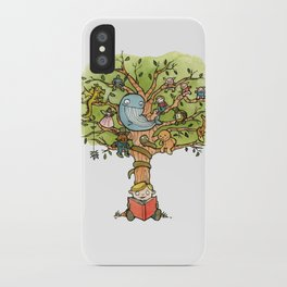 StoryTime Tree iPhone Case