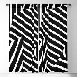 Op Art Triagles Blackout Curtain