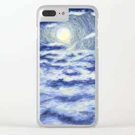 I sailed oceans Clear iPhone Case