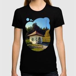 Small chapel up on the mountain T-shirt