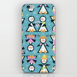 Penguin Party iPhone Skin