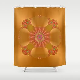 Abstract 388 Shower Curtain