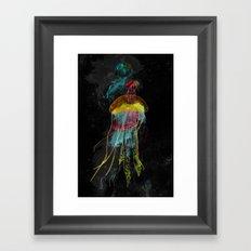 Electric Fins Framed Art Print