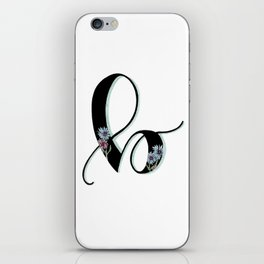 bachelor button iPhone Skin