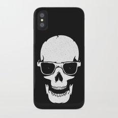Skull in shades iPhone X Slim Case