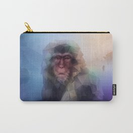 Macaque (Low Poly Multi I Snow Monkey) Carry-All Pouch