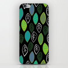 Modern Abstract Leaf Pattern iPhone & iPod Skin