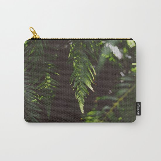 Ferns of Emerald Carry-All Pouch