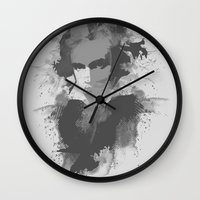 beethoven Wall Clocks featuring BEETHOVEN by Resistance