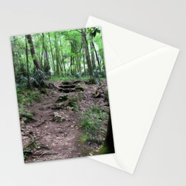 Let Us Take This Path Stationery Cards