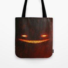 Smile (Red) Tote Bag